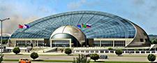 Konya Bilim Merkezi  Projesi Çelik Örgü Kabuk Çatısı