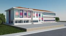 Uşak Bölme Mavi Şehir 12 Derslikli Okul Yapım İşi Yapım işi