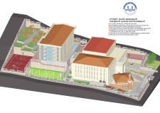 Diyanet İşleri Başkanlığı Eskişehir Eğitim Merkezi İnşaatı Prekast Cephe, Çevre Düzenleme ve Asansör Yapımı