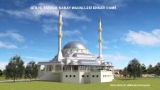 Projesini Şahin Mimarlık - Mustafa Şahin' in Hazırladığı Bitlis Tatvan Ensar Camii Yapım İşinin Mahal Listesini Yayınladık