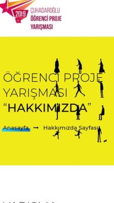 Çuhadaroğlu 2019 Öğrenci Proje Yarışması