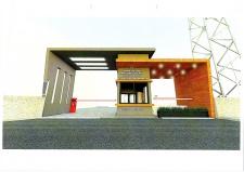 Narlıdere Huzurevi Yaşlı Bakım ve Rehabilitasyon Merkezi Giriş Kapılarının Yapılması