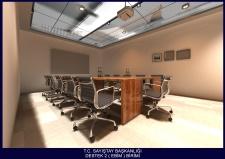 Sayıştay Başkanlığı Hizmet Binasında Yer Alan EBİM Bölümünün Yeniden Yerleşim Ve Düzenlemesi
