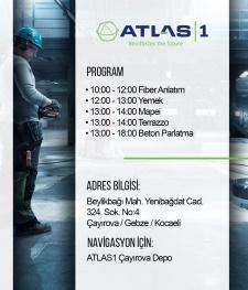 Atlas1 Firmasının Düzenlediği Etkinliğe Davetlisiniz.