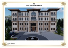 Projesi As Mimarlık / Asena Gürpınar Tarafından Hazırlanan  Uşak ili, Eşme Hükümet Konağı İnşaatı ile Altyapı ve Çevre Düzenlemesi Yapım İşinin İhale Sonucu ve Mahal Listelerini Yayınladık.