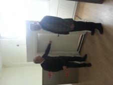Elpa Yangin Dolaplari firmasini ziyaret ettim.