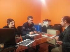 Tepe Betopan firmasi ile 4E Proje Ofisini ziyaret ettik.