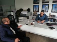 Malzeme Firmaları İle Proje Ofislerini Ziyaret Ediyoruz.