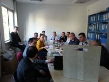 Tepe Betopan firması ile Msb Ankara İnşaat Emlak Müdürlüğünde seminer verdik.