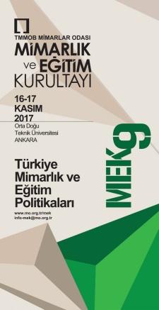 Türkiye Mimarlık ve Eğitim Politikaları