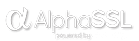 AlphaSSL powered by GlobalSign